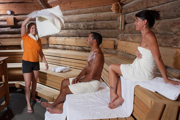Kelo-Sauna in der Vita Classica