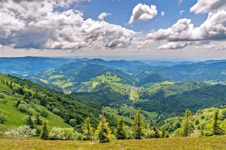 Region Belchen Schwarzwaldköpfe