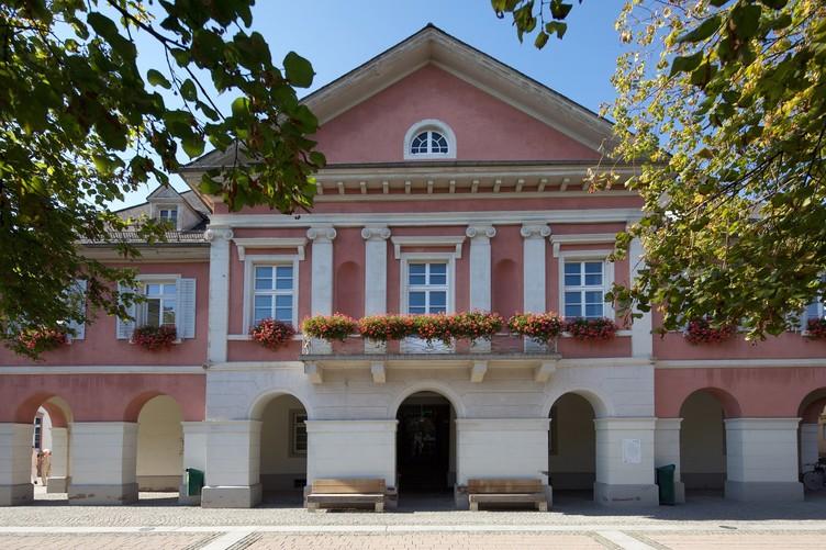 Historische Fassade des Schopfheimer Rathauses