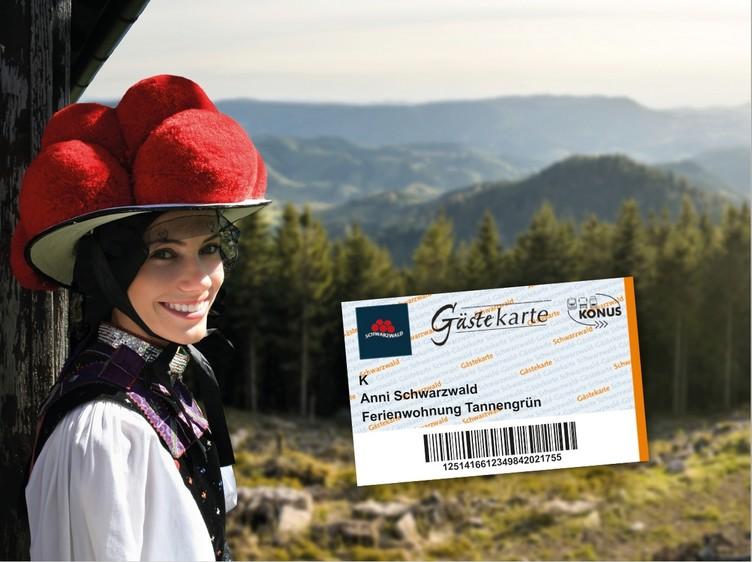 Mit der KONUS-Mobilitätskarte reisen Sie nachhaltig durch den Schwarzwald.