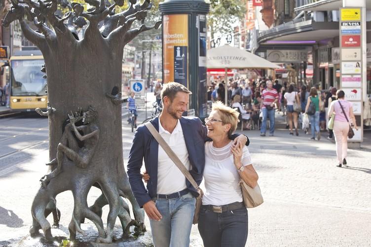 Shopping in der Kaiserstraße