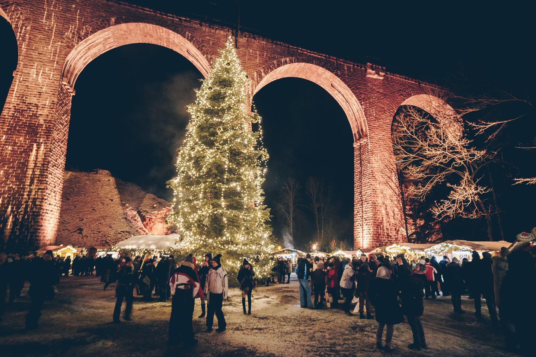 Weihnachtsmarkt in der Ravennaschlucht © Chris Keller / STG