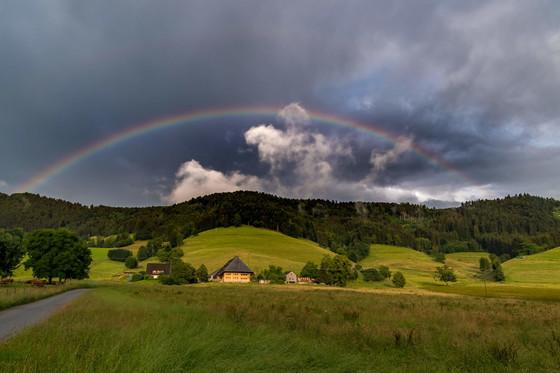 Regenbogen Dreisamtal © Klaus Hansen