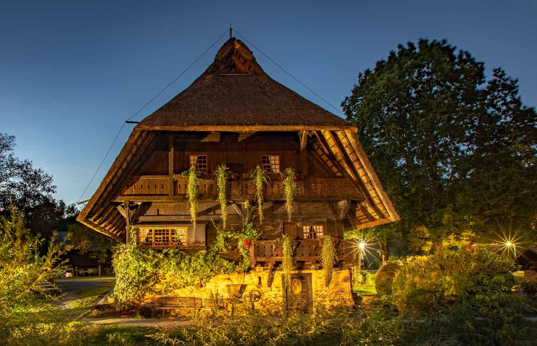Fürstenberger Hof beleuchtet