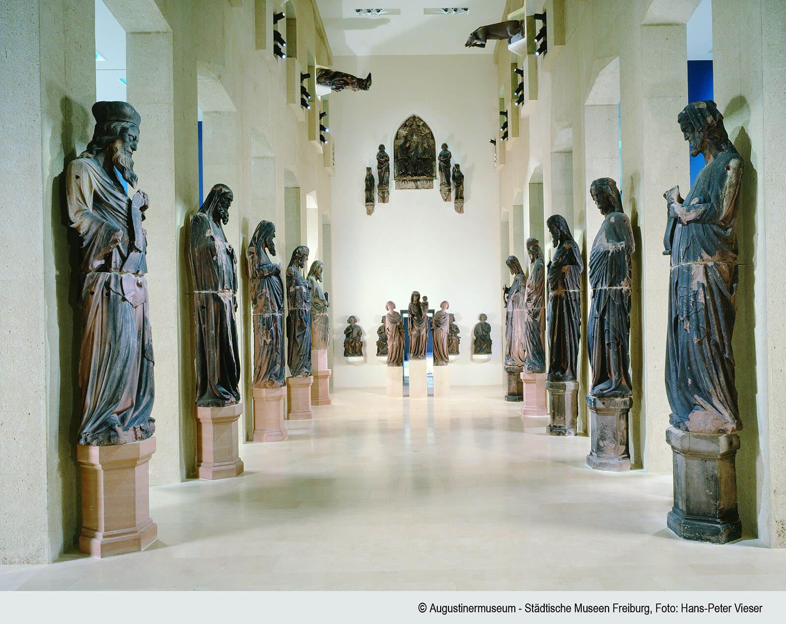 Skulpturenhalle im Augustinermuseum Freiburg