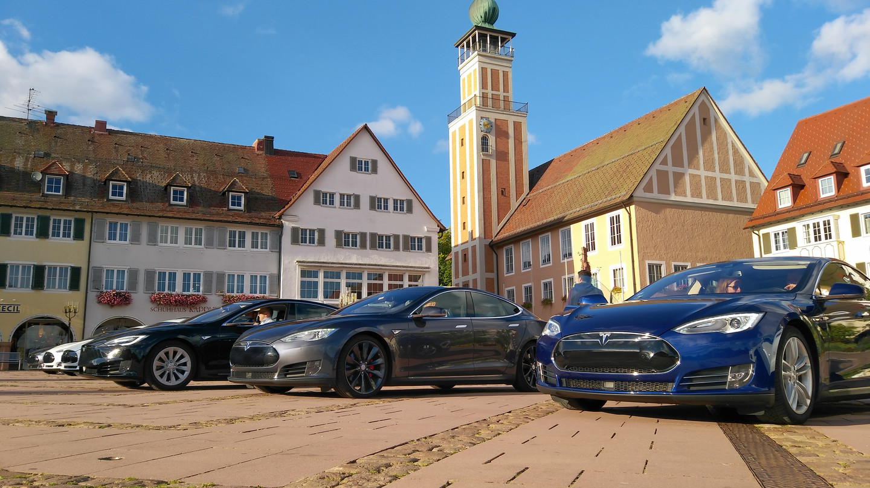 Elektromobilität Tesla