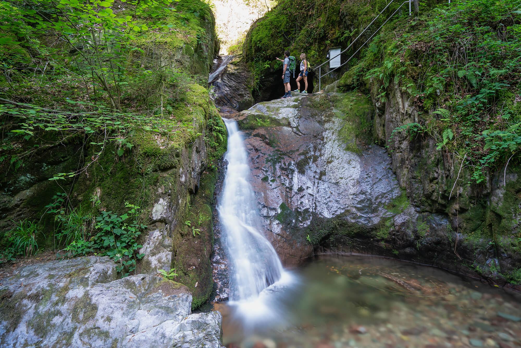 Edelfrauengrab-Wasserfälle Ottenhöfen © Tourist-Info Ottenhöfen