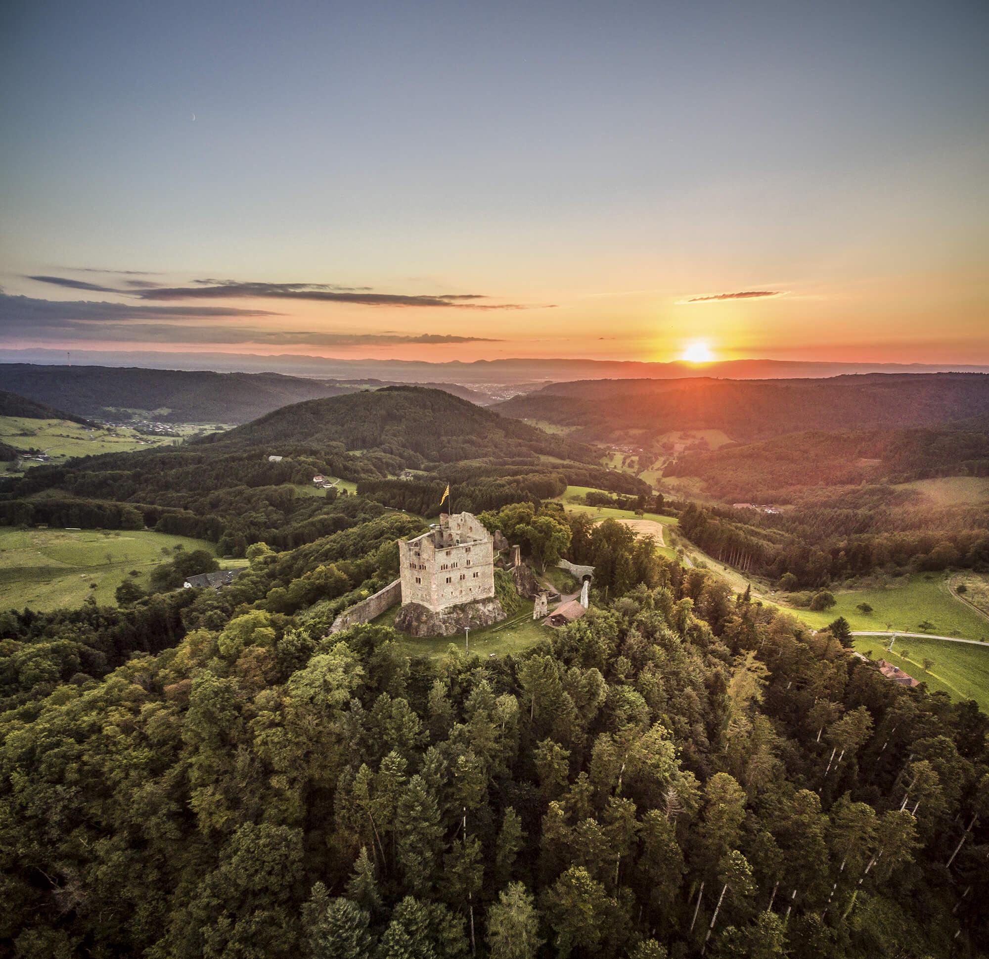 Burgruine Hohengeroldseck © Chris Keller / STG