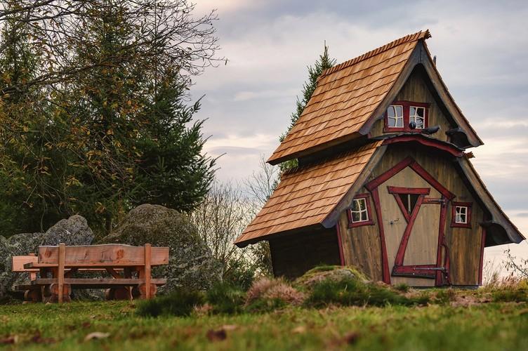 Lautenbacher Hexensteig, Hexenhaus