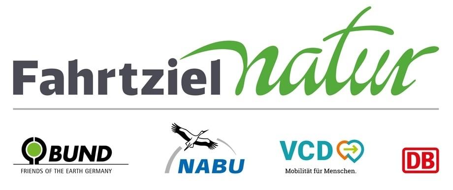 Logo Fahrtziel Natur mit Verbänden