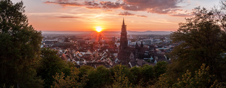 Sonnenuntergang Freiburg © Chris Keller / STG