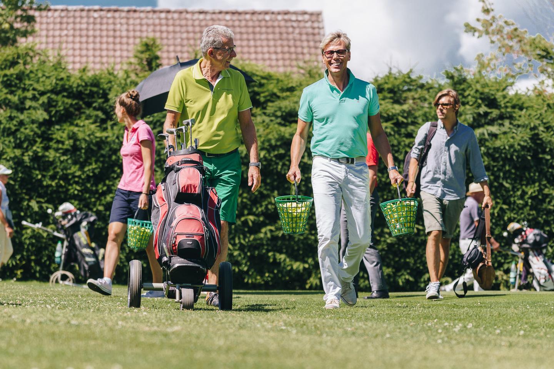 Golfen mit Hansy Vogt © Chris Keller / STG