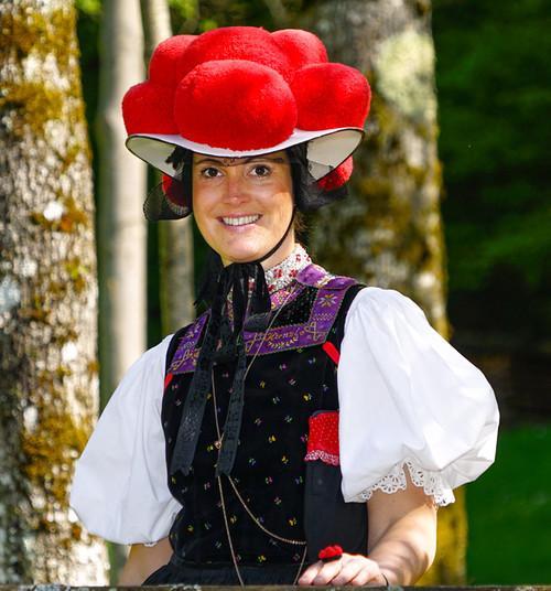 Bollenhut Mai Kirnbach, Mädchen