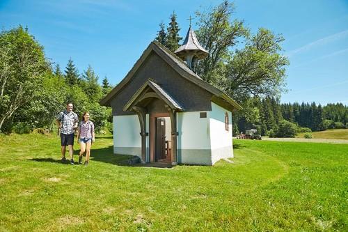 NaDU - Schönwald Wandern Hubertuskapelle
