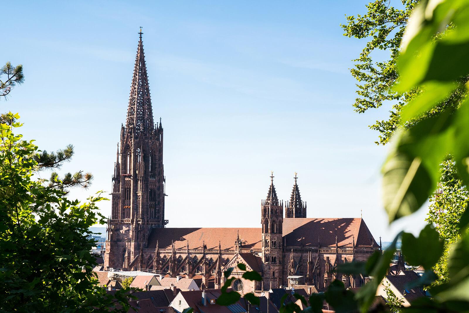 Schwarzwälder Städtchen: Freiburg