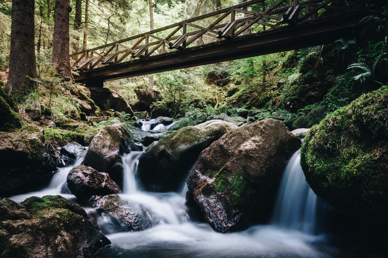 Ravennschlucht Holzbrücke