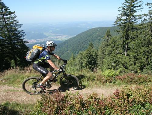 Bike Crossing Schwarzwald Kandelfelsen