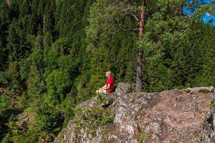 Schluchtensteig Schwarzwald Räuberschlössle