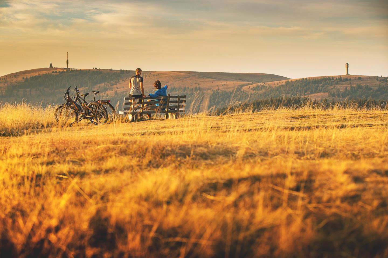 Tourenrad mit Blick auf Feldberg © Daniel Geiger/Centurion