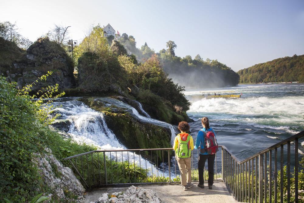 WasserWeltenSteig Rheinfall