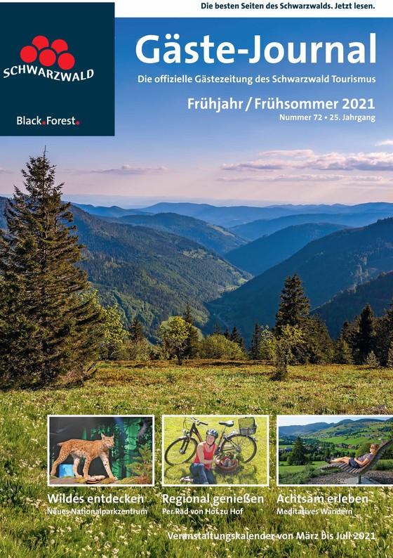Gäste Journal Frühjahr  / Frühsommer 2021