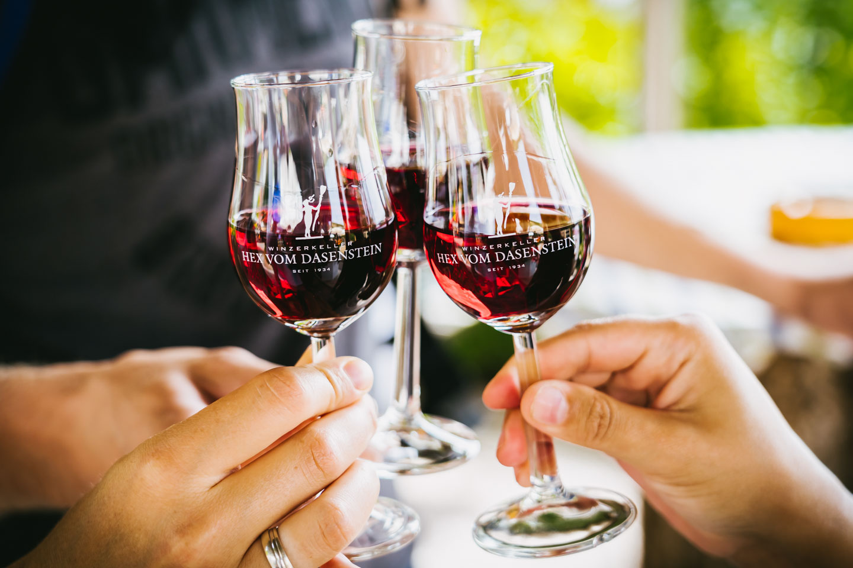Weinprobe in Kappelrodeck
