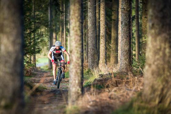 Mit dem MTB über Single Trails © Daniel Geiger/Centurion