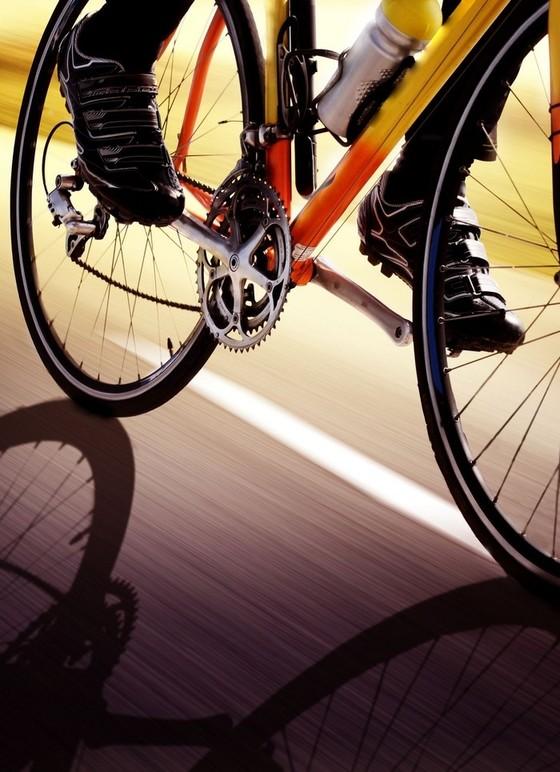Radfahren Rennrad Straße