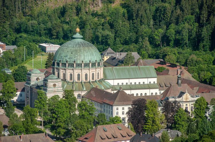 Imposantes Bauwerk: der Dom St. Blasius in St. Blasien