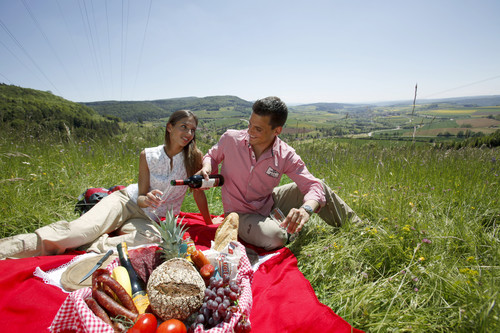 Picknick bei Blumberg