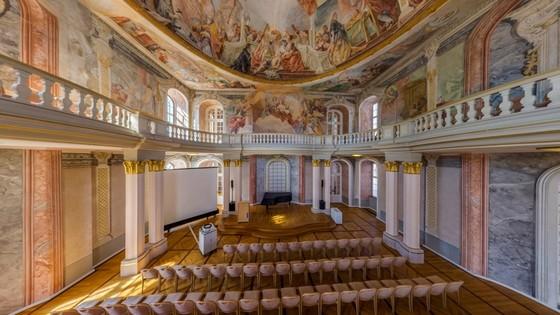 Ettlingen Schloss 360 Grad © Stadt Ettlingen