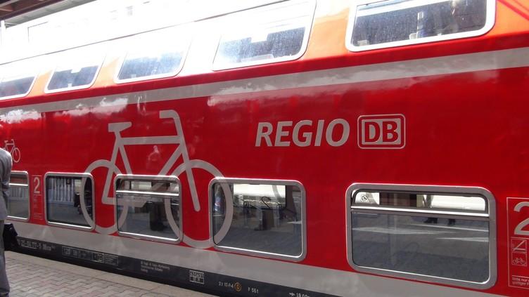 Fahrradwagen der Deutschen Bahn