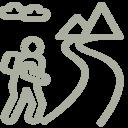 Icon Fernwandern