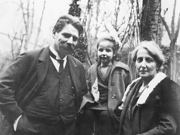 Albert Schweitzer und seine Familie