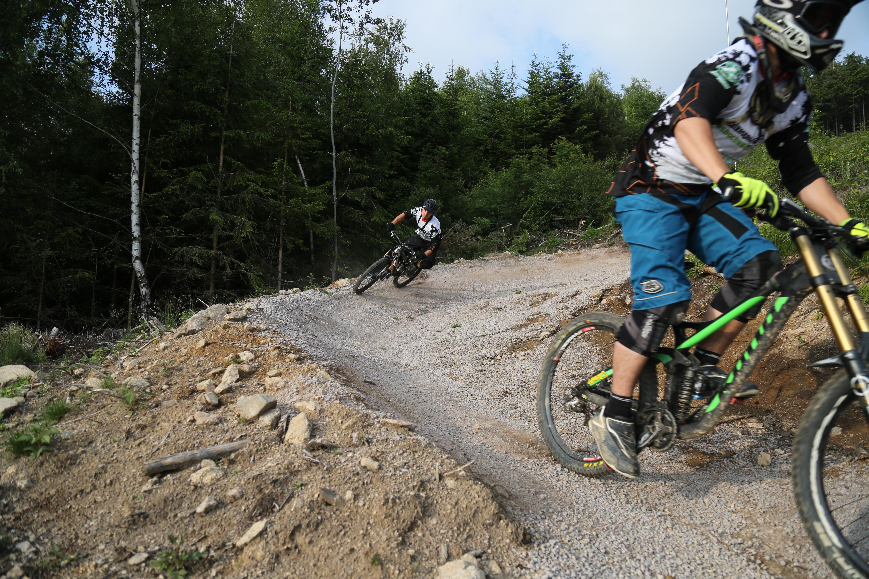 Mountainbiker in Sasbachwalden