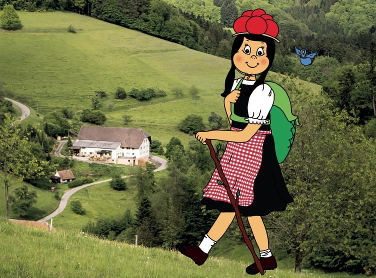 Familienfreundliche Wandertouren mit Anni und Federle.