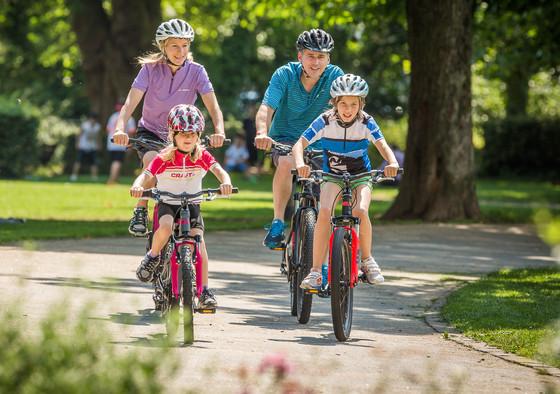Familienurlaub mit dem Rad © Daniel Geiger/Centurion