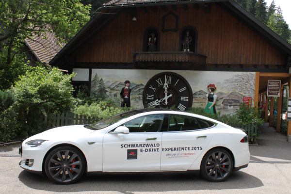 Tesla Schwarzwald e-drive Experience 2015