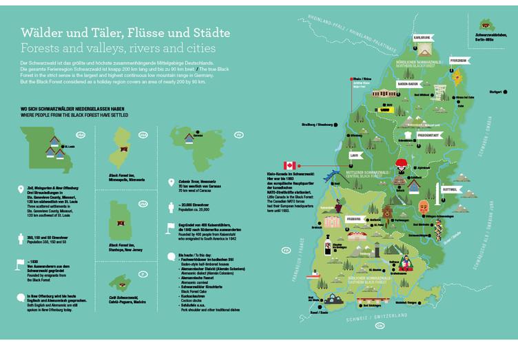 Total alles über den Schwarzwald Leseprobe Wälder