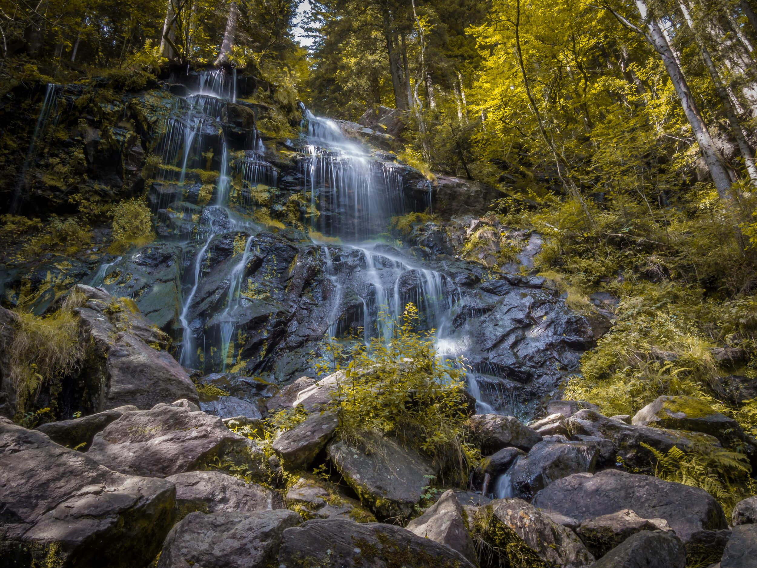 Zweribachwasserfälle Hochschwarzwald © Chris Keller / STG