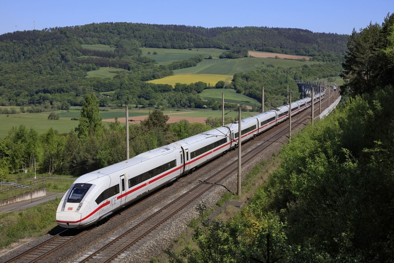 Deutsche Bahn ICE Copyright Deutsche Bahn AG / Georg Wagner