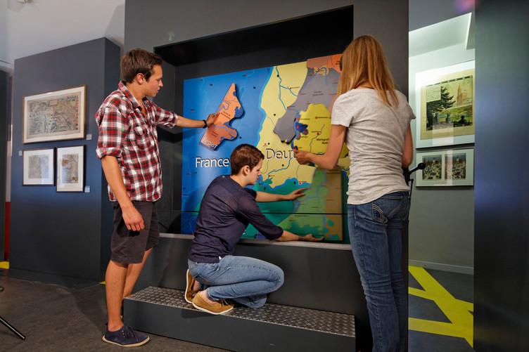 Puzzle im Drei-Länder-Museum in Lörrach