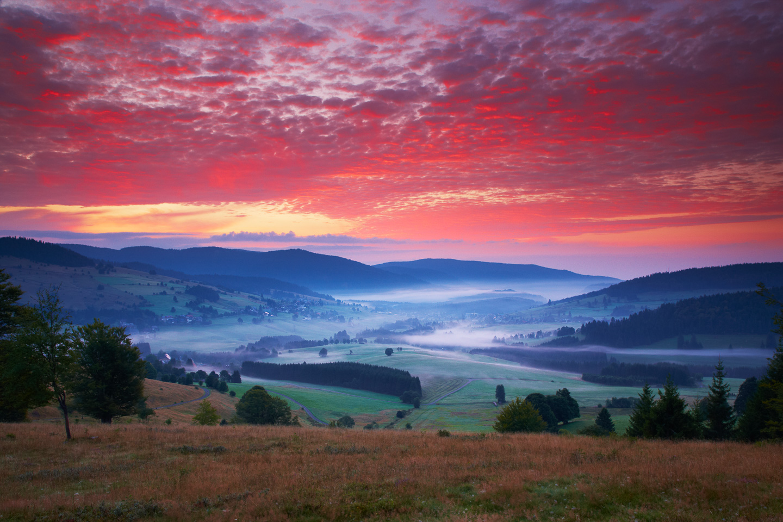 Morgennebel bei Bernau © Erich Spiegelhalter/Schwarzwald Tourismus
