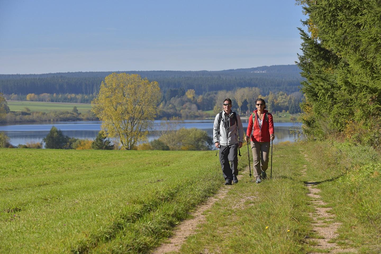 Wandern am Kirnbergsee