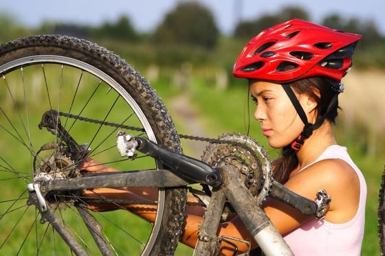 Mountainbike Service Reparatur ©123RF