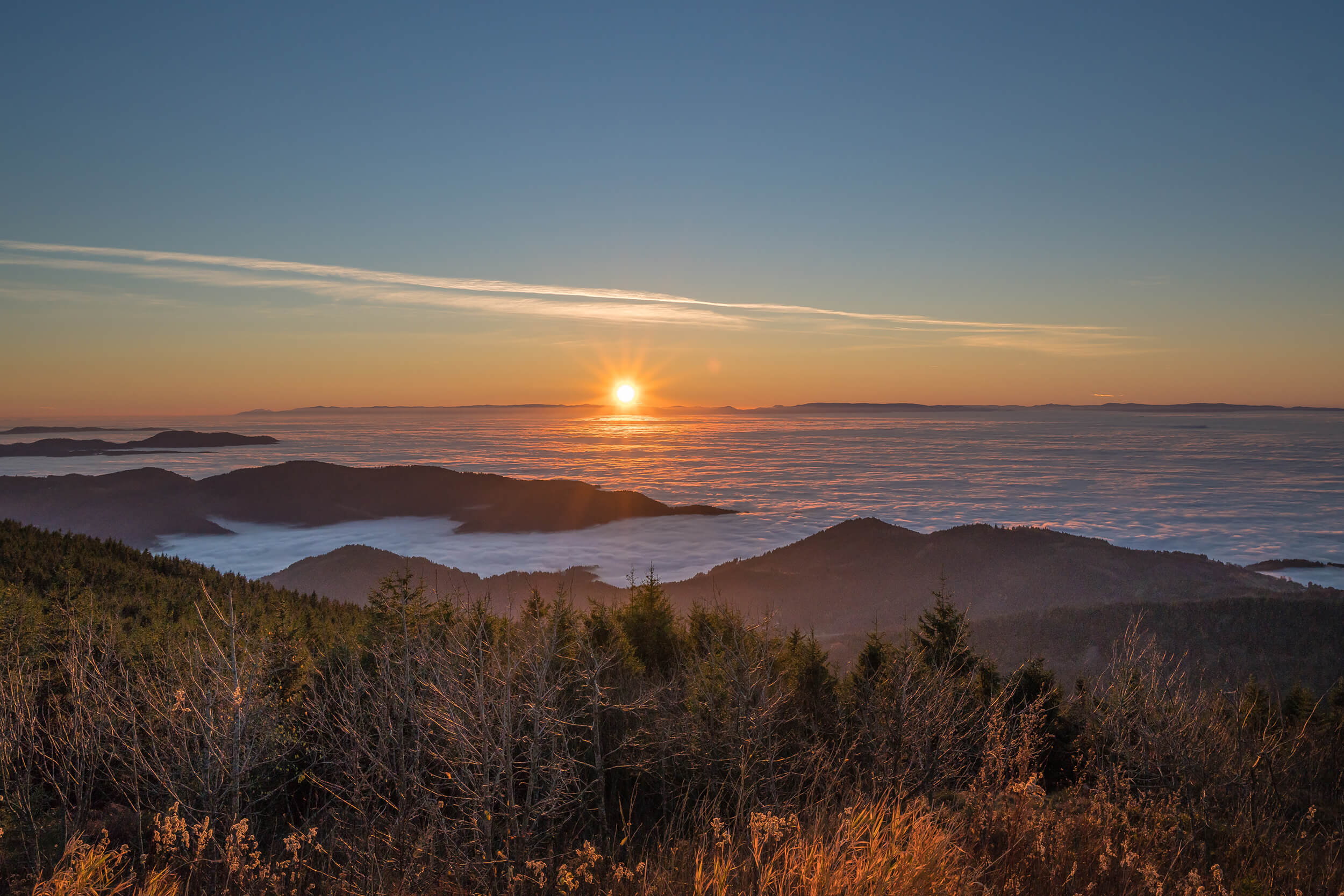 Hornisgrinde Sonnenuntergang