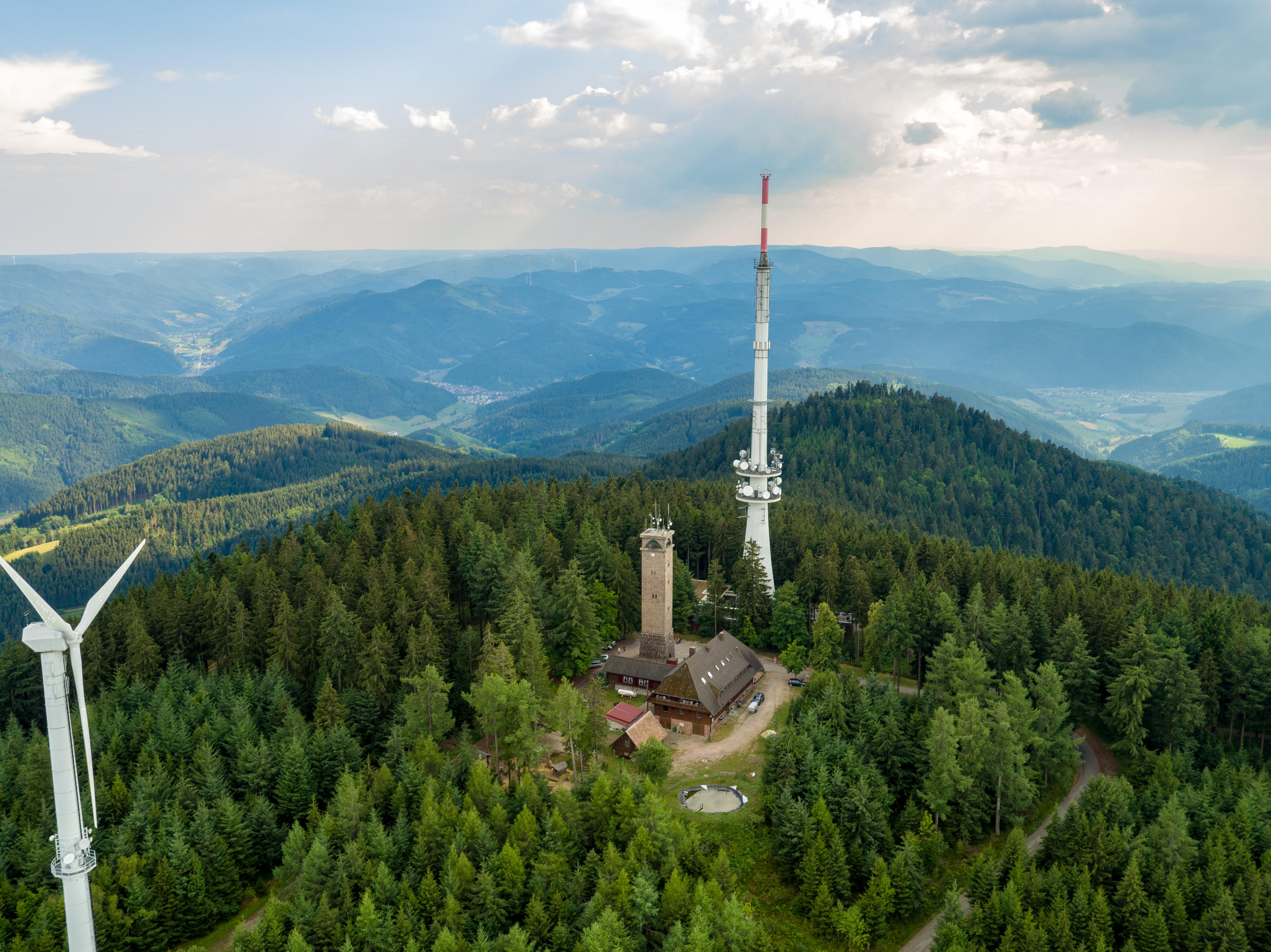 Oberharmersbach-Idylle am Fuße des Brandenkopfs, Höchster Berg im Mittleren Schwarzwald