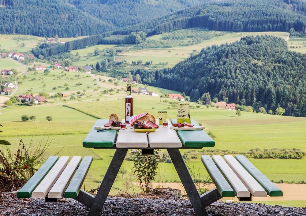 Hahn- und Henne Picknicktisch