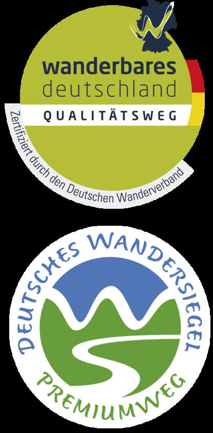 Logos zertifiziertes Wandern