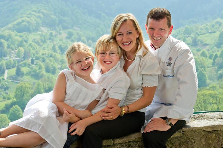 Bernd Werner und Familie